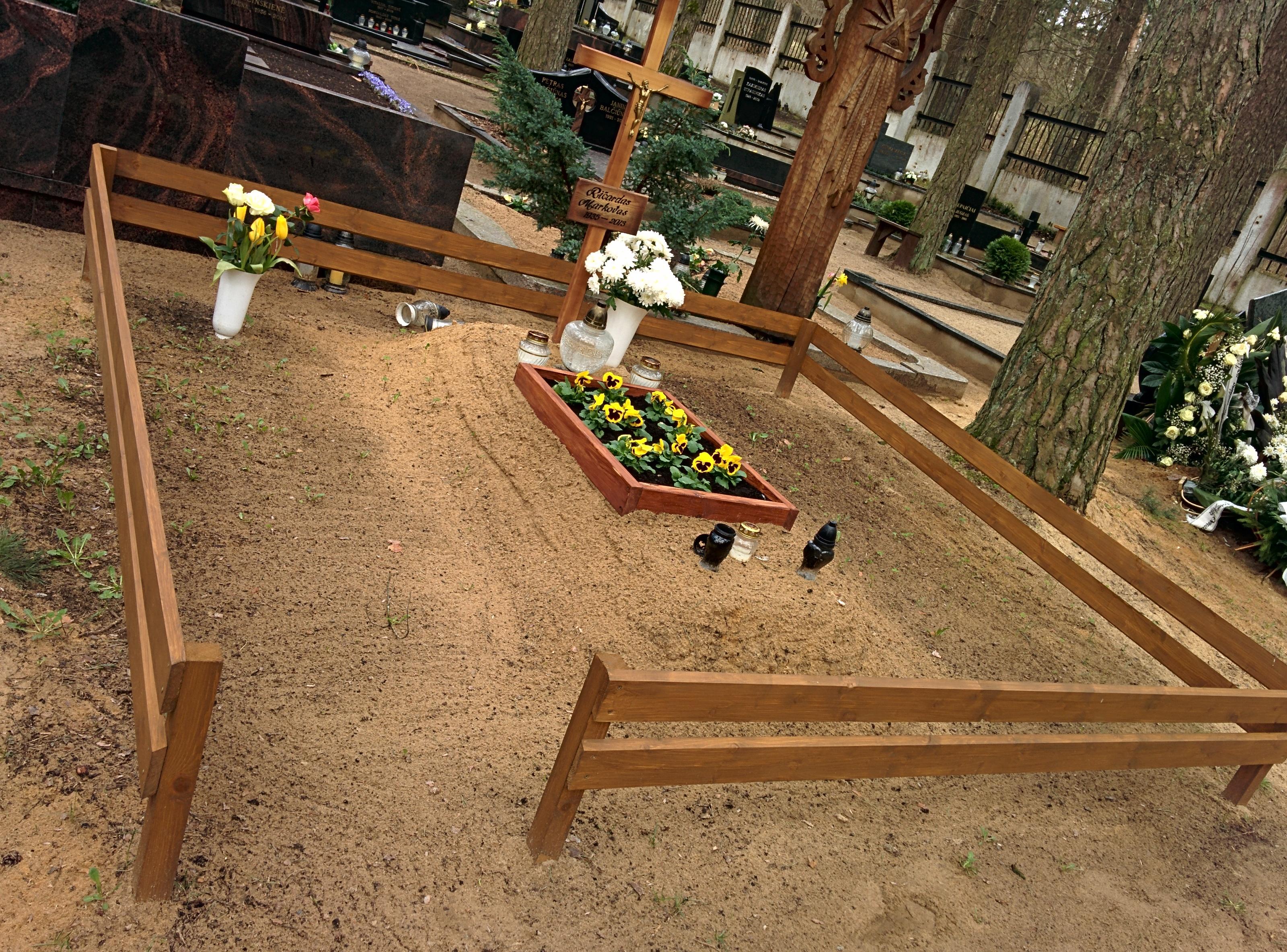 Kapavietės tvarkymas po laidotuvių