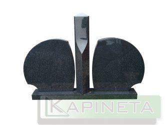 Kapo paminklas iš juodo granito