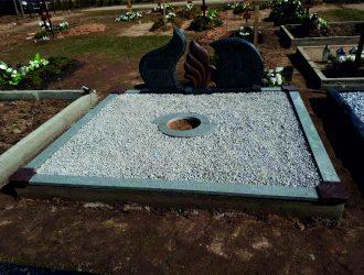 Kapo dekoravimas granito skalda 019