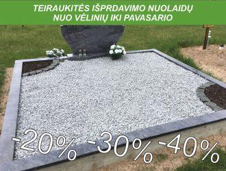 Kapo dekoravimas granito skalda 020