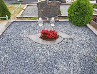 Kapo dekoravimas granito skalda 031