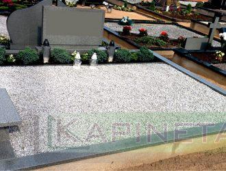 Kapo dekoravimas granito skalda 003