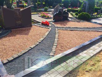 Kapo dekoravimas granito skalda 008