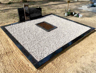 Kapo dekoravimas granito skalda 038